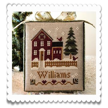 Little House Needleworks ~ Hometown Holiday My House