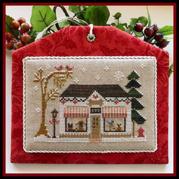 Little House Needleworks ~ Hometown Holiday The Pet Store