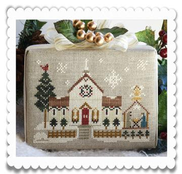 Little House Needleworks ~ Hometown Holiday The Town Church