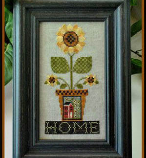 Little House Needleworks ~ Home Is Where The Sunflowers Grow