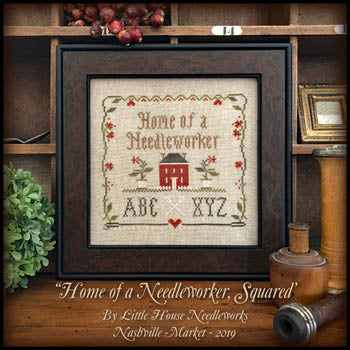 Little House Needleworks ~ Home Of A Needleworker, Squared w/threads