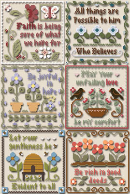 Little House Needleworks ~ Inspirational Scriptures