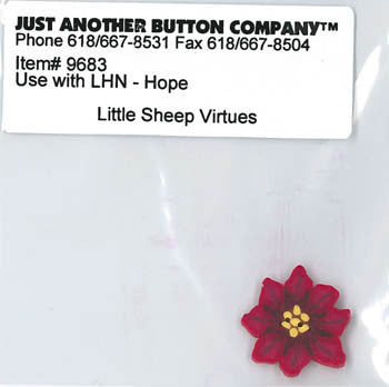 Little House Needleworks ~ JABC Button Hope ~  Little Sheep Virtues