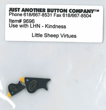 Little House Needleworks ~ JABC Buttons Kindness ~  Little Sheep Virtues