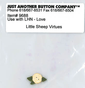 Little House Needleworks ~ JABC Button Love ~  Little Sheep Virtues