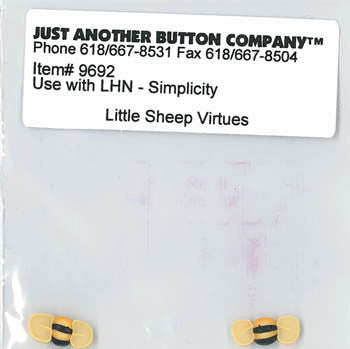 Little House Needleworks ~ JABC Buttons Simplicity ~  Little Sheep Virtues