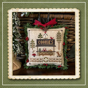 Little House Needleworks ~ Cookies ~ #7 of Jack Frost's Tree Farm (Part 7 of 7)