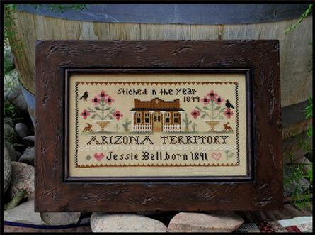 Little House Needleworks ~ Jessie Bell, Arizona Territory