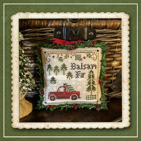 Little House Needleworks ~ Balsam Fir ~ #4 of Jack Frost's Tree Farm (Part 4 of 7)