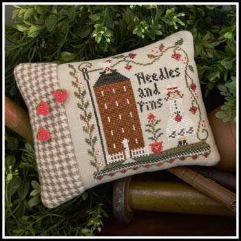 Little House Needleworks ~ Keeper Of The Pins (W/threads & pins!)