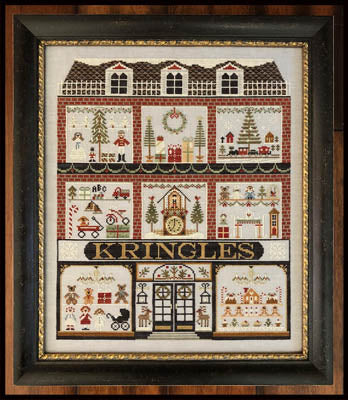 Little House - Kringles w/Classic Colorworks Floss Pack