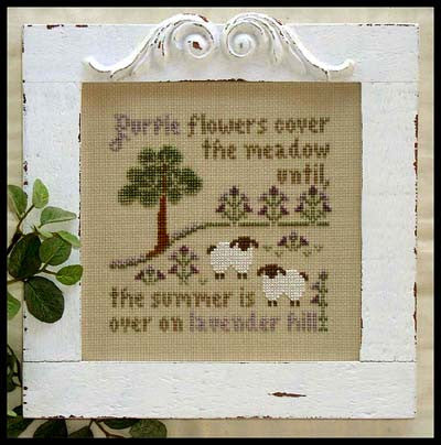 Little House Needleworks ~ Lavender Hill