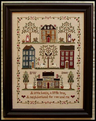 Little House Needleworks ~ Little House Neighborhood