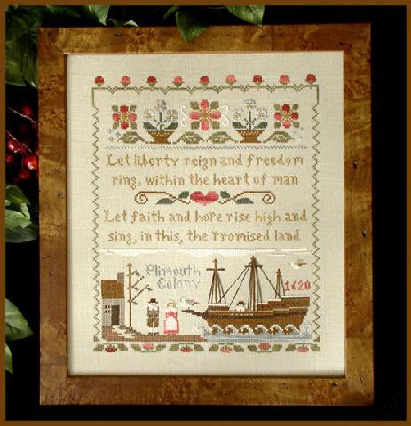 Little House Needleworks ~ Mayflower Landing