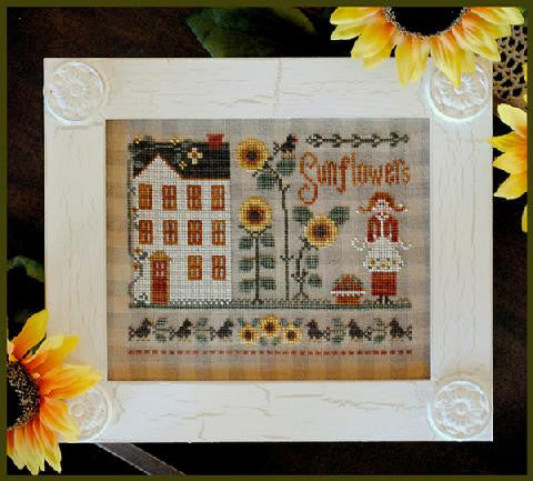 Little House Needleworks ~ Little Miss Sunflower