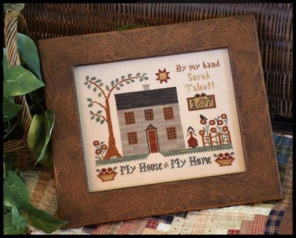 Little House Needleworks ~ My House - My Home