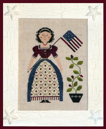 Little House Needleworks ~ My Lady Liberty