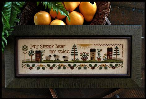 Little House Needleworks ~ My Sheep