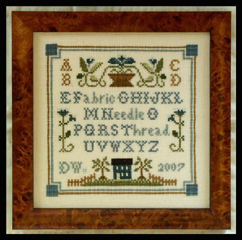 Little House Needleworks ~ Necessities Sampler