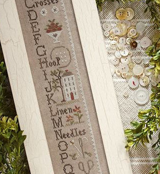 Little House Needleworks ~ Needlework ABC's (w/threads)