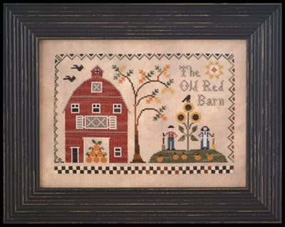 Little House Needleworks ~ The Old Red Barn