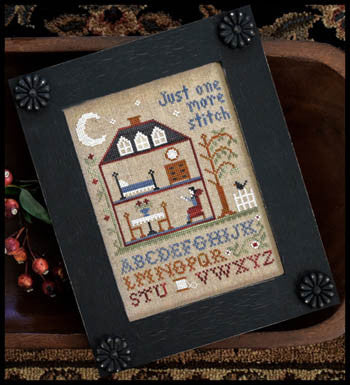 Little House Needleworks ~ One More Stitch w/floss