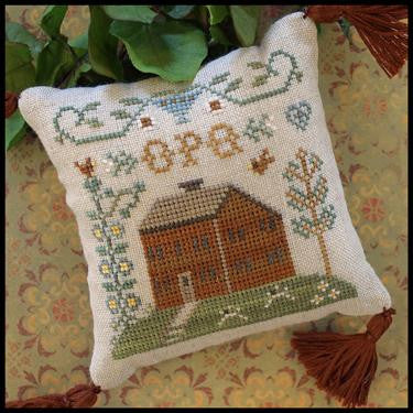 Little House Needleworks ~ ABC Samplers #6 OPQ