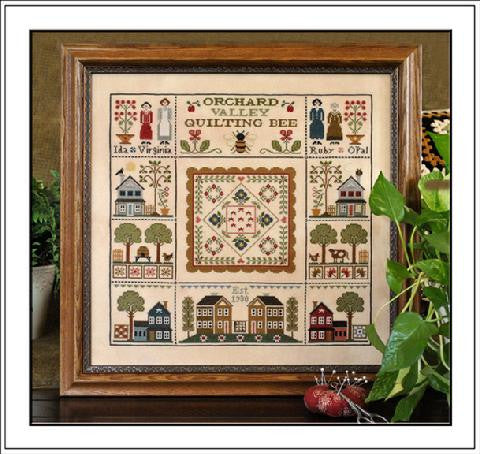 Little House Needleworks ~ Orchard Valley Quilting Bee