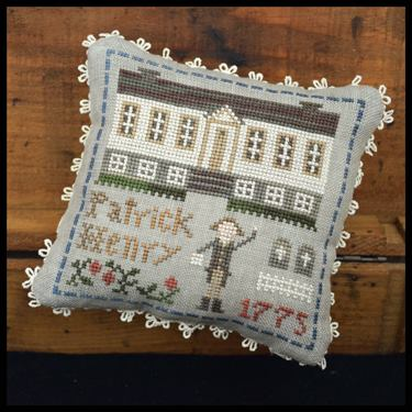 Little House Needleworks ~ The Early Americans ~ Patrick Henry (#8 of 9)