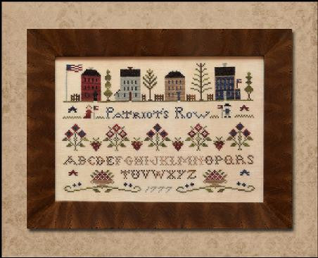 Little House Needleworks ~ Patriot's Row
