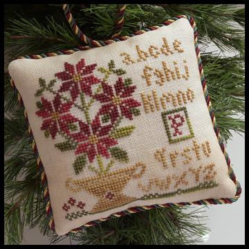 Little House ~ The Sampler Tree ~ Potted Poinsettia