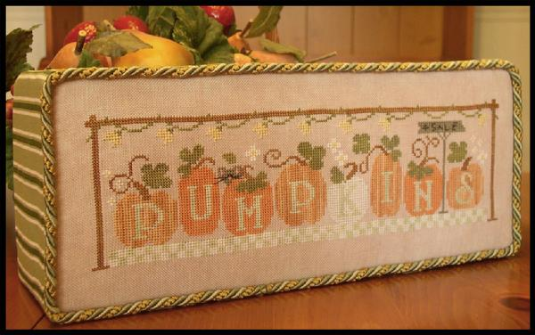 Little House Needleworks ~ Pumpkins 4 Sale