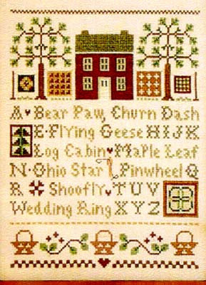 Little House Needleworks ~ Quilt Time Sampler