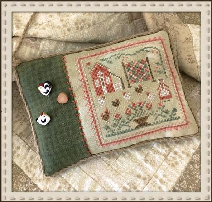 Little House Needleworks ~ The Rooster and the Hens