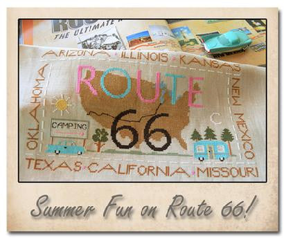 Little House Needleworks ~ Route 66