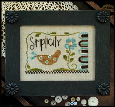 Little House Needleworks ~ Simplicity