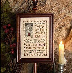 Little House Needleworks ~ Spot of Coffee