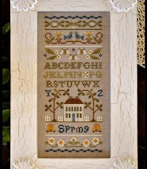 Little House Needleworks ~ Spring Band Sampler