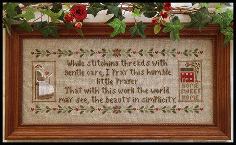Little House Needleworks ~ A Stitcher's Prayer