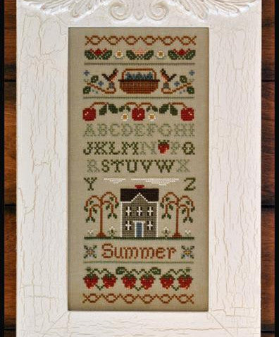Little House Needleworks ~ Summer Band Sampler