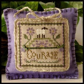 Little House Needleworks ~ Courage ~  Little Sheep Virtues
