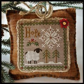 Little House Needleworks ~ Hope ~  Little Sheep Virtues