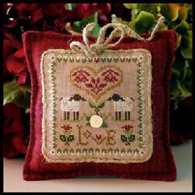 Little House Needleworks ~ Love ~  Little Sheep Virtues