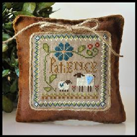 Little House Needleworks ~ Patience ~  Little Sheep Virtues