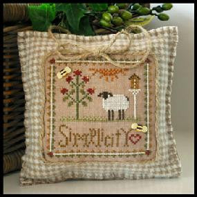 Little House Needleworks ~ Simplicity ~  Little Sheep Virtues
