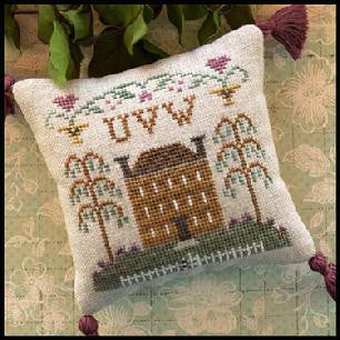 Little House Needleworks ~ ABC Samplers #8 - UVW