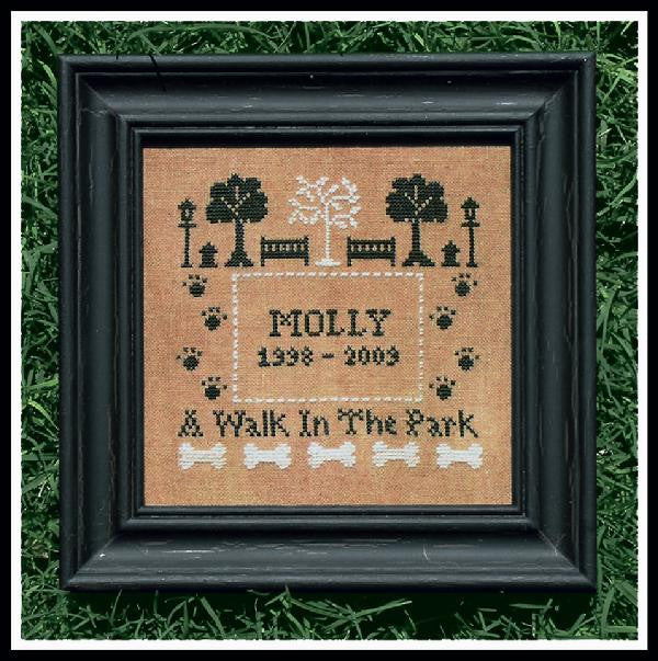 Little House Needleworks ~ A Walk In The Park