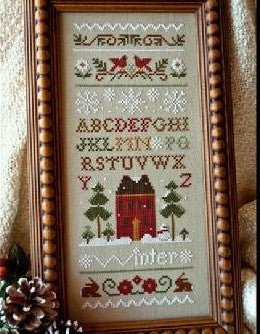 Little House Needleworks ~ Winter Band Sampler