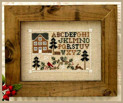 Little House Needleworks ~ Woodland Sampling