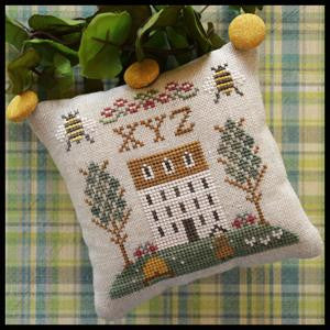 Little House Needleworks ~ ABC Samplers #9 - XYZ
